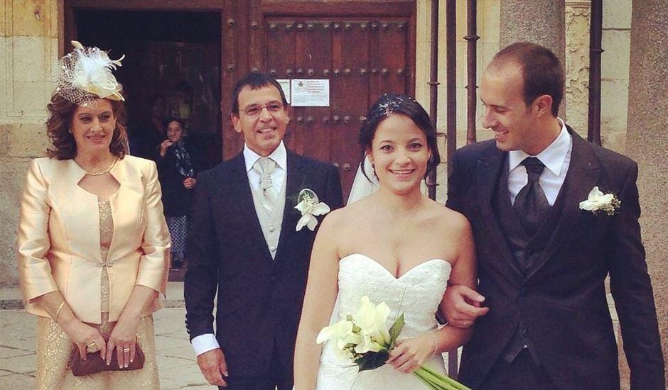 La boda de Miguel  y Catalina  en Alba De Tormes, Salamanca