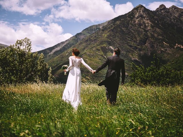 La boda de Mariano y Elena en Anciles, Huesca 2
