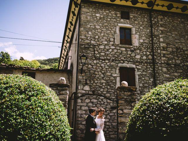 La boda de Mariano y Elena en Anciles, Huesca 78