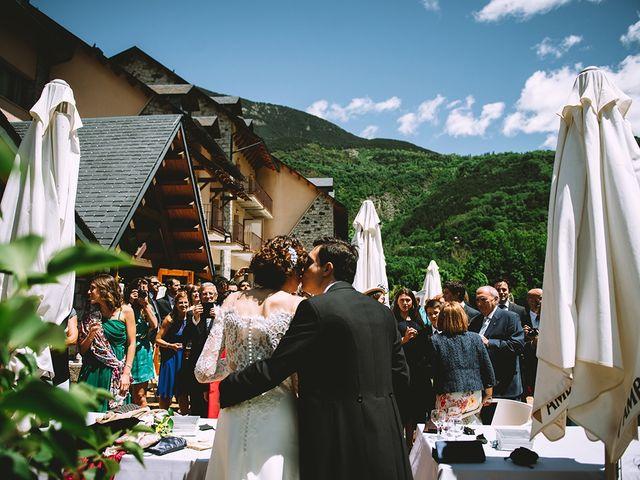 La boda de Mariano y Elena en Anciles, Huesca 83