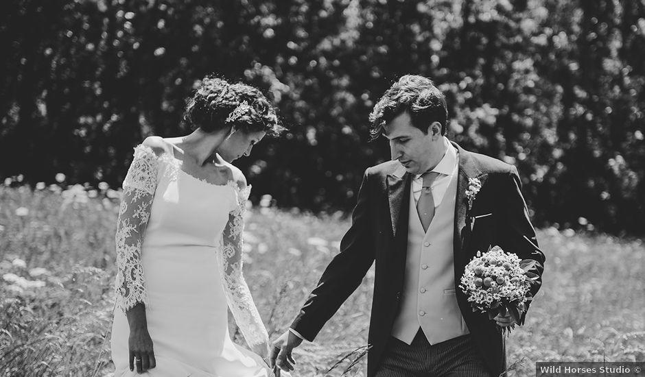 La boda de Mariano y Elena en Anciles, Huesca
