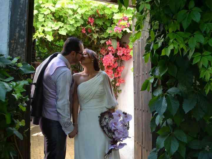 La boda de Macarena y Rafael