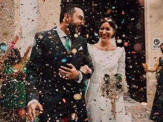 La boda de Ángeles y Adrián