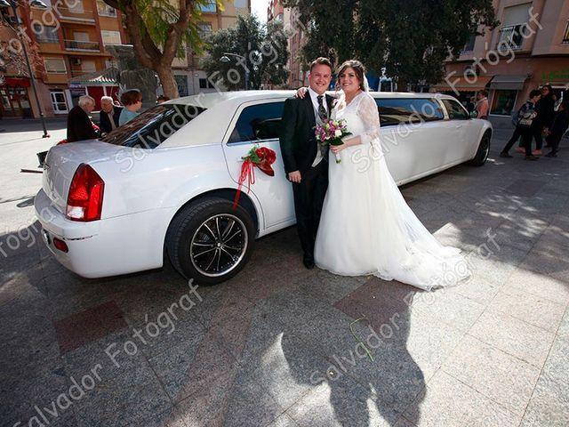 La boda de Juan Francisco y Cristina en Callosa D'en Sarrià, Alicante 2