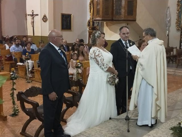 La boda de Juan Antonio  y Maria  en Alfambra, Teruel 1