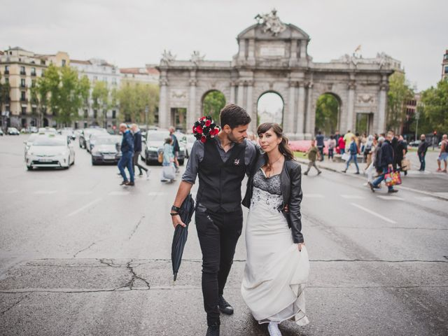 La boda de Guille y Mary en Madrid, Madrid 129