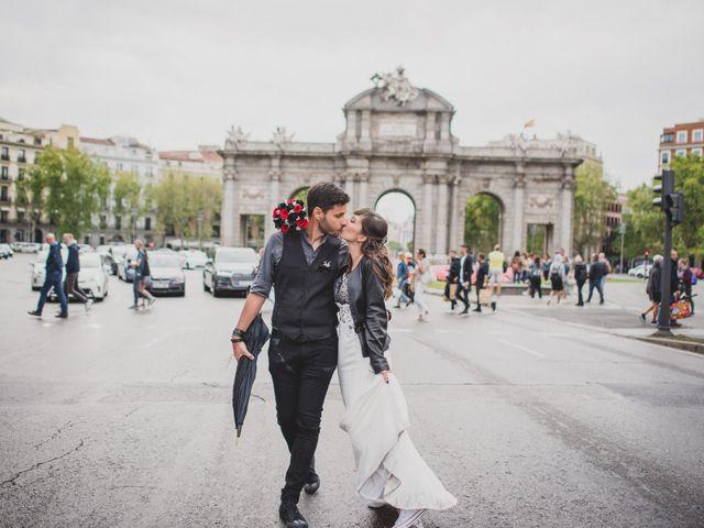 La boda de Guille y Mary en Madrid, Madrid 131