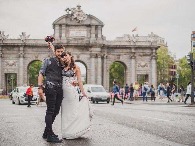 La boda de Guille y Mary en Madrid, Madrid 134