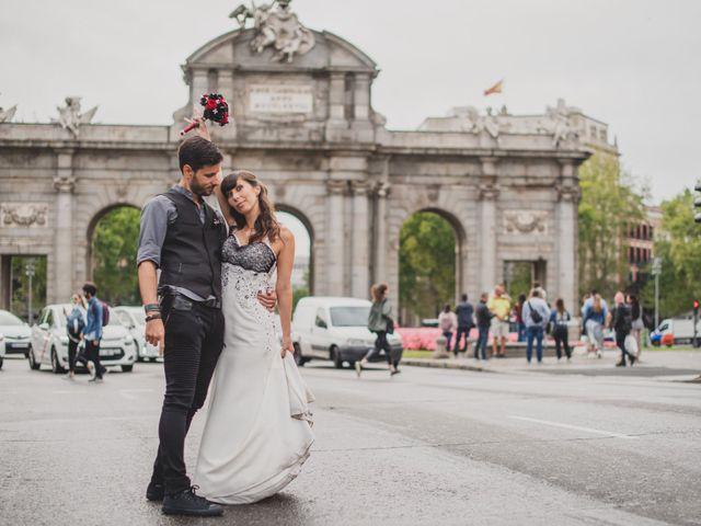 La boda de Guille y Mary en Madrid, Madrid 135
