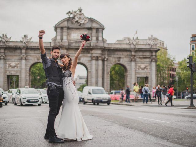 La boda de Guille y Mary en Madrid, Madrid 136