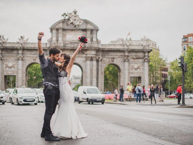 La boda de Guille y Mary en Madrid, Madrid 137