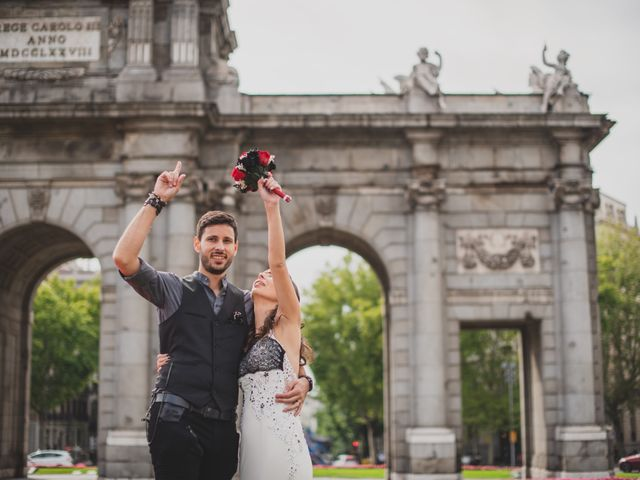 La boda de Guille y Mary en Madrid, Madrid 144