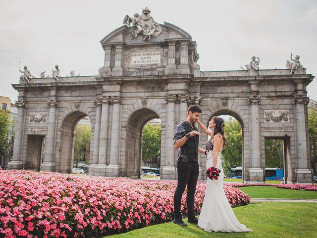 La boda de Guille y Mary en Madrid, Madrid 145