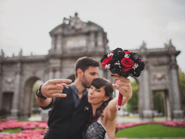 La boda de Guille y Mary en Madrid, Madrid 148