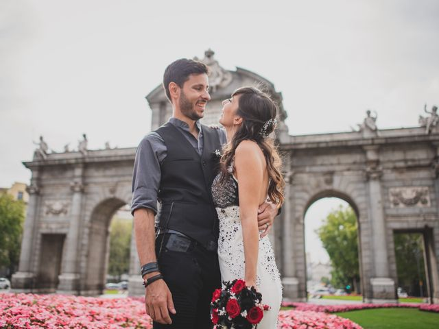 La boda de Guille y Mary en Madrid, Madrid 150