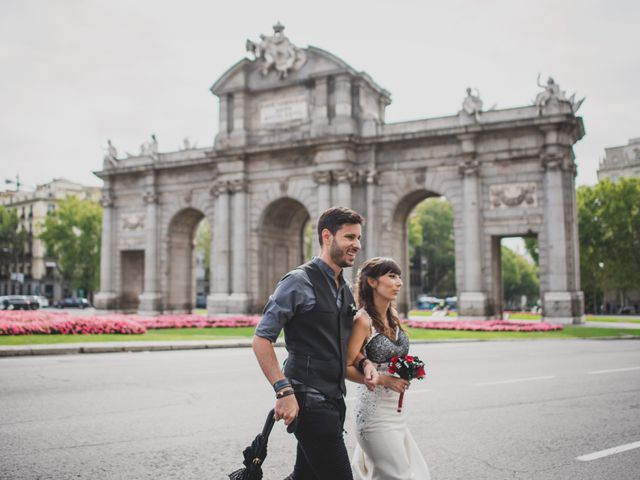 La boda de Guille y Mary en Madrid, Madrid 156