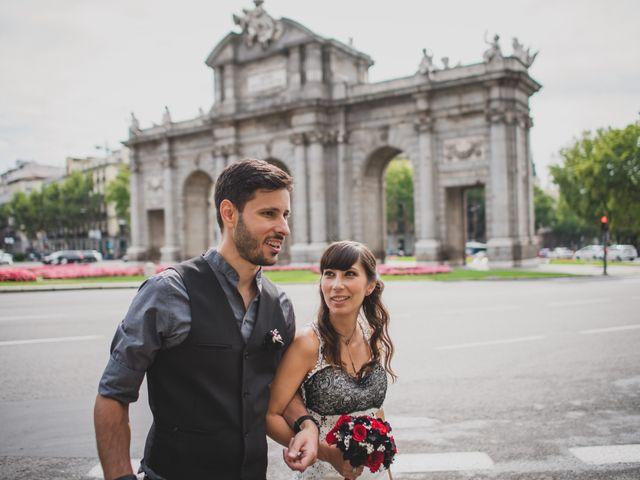 La boda de Guille y Mary en Madrid, Madrid 157