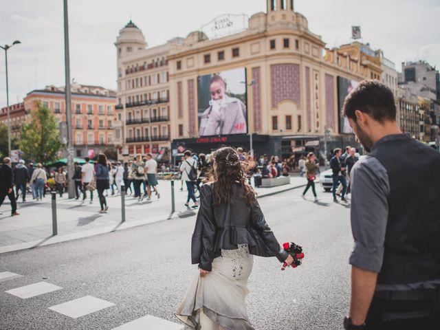 La boda de Guille y Mary en Madrid, Madrid 163