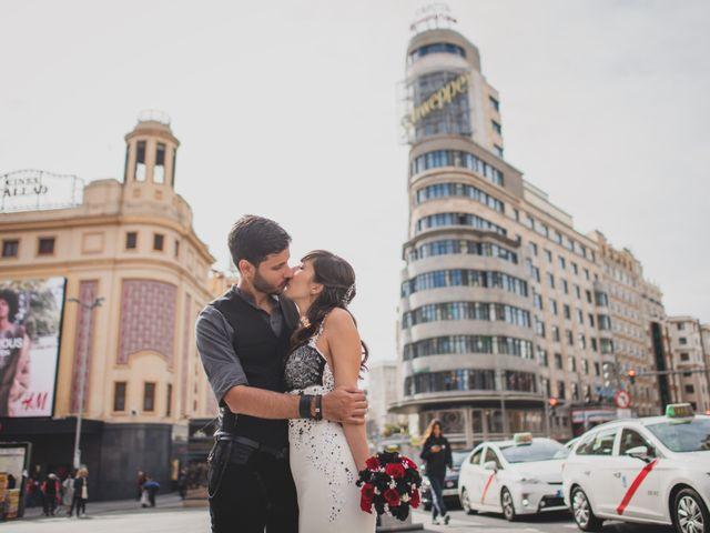 La boda de Guille y Mary en Madrid, Madrid 169