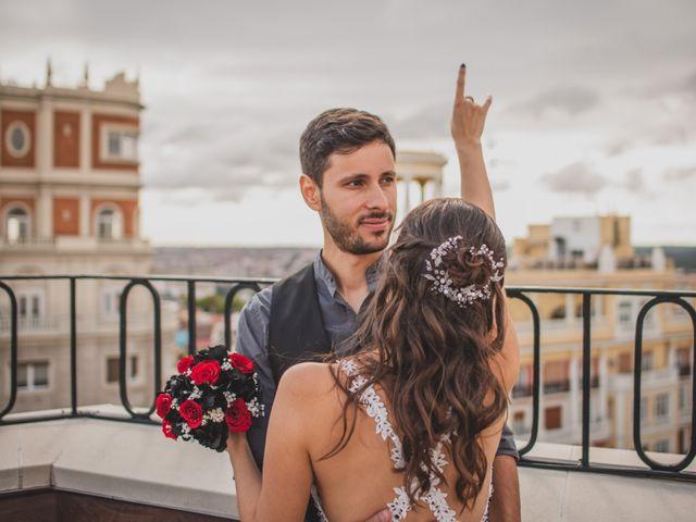 La boda de Guille y Mary en Madrid, Madrid 186
