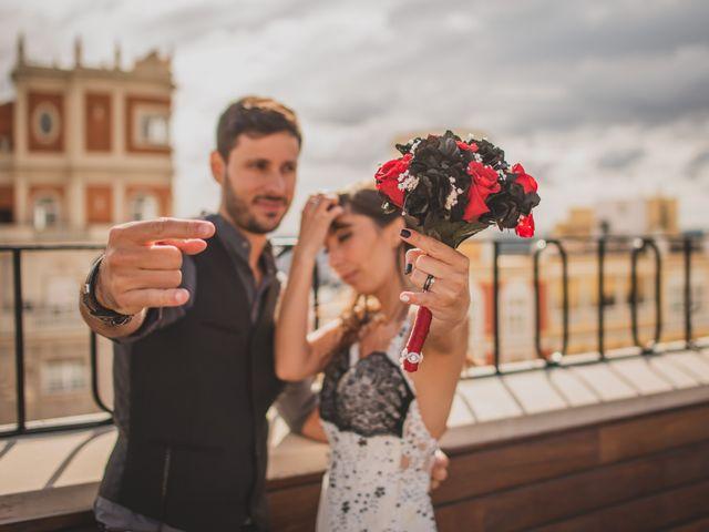 La boda de Guille y Mary en Madrid, Madrid 196