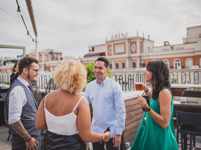 La boda de Guille y Mary en Madrid, Madrid 206