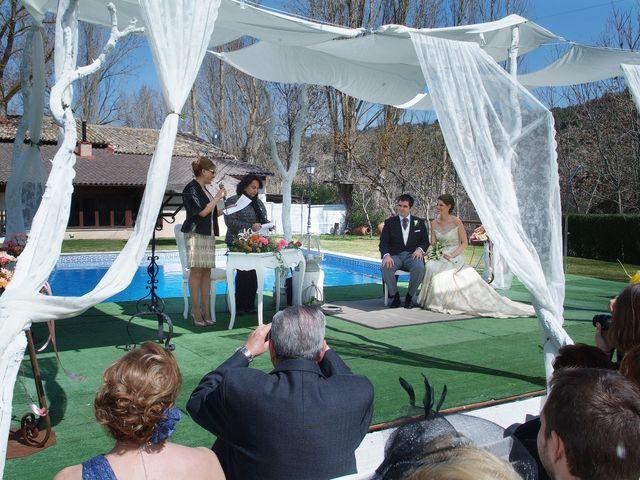La boda de Alvaro y Alba en Saelices, Cuenca 2
