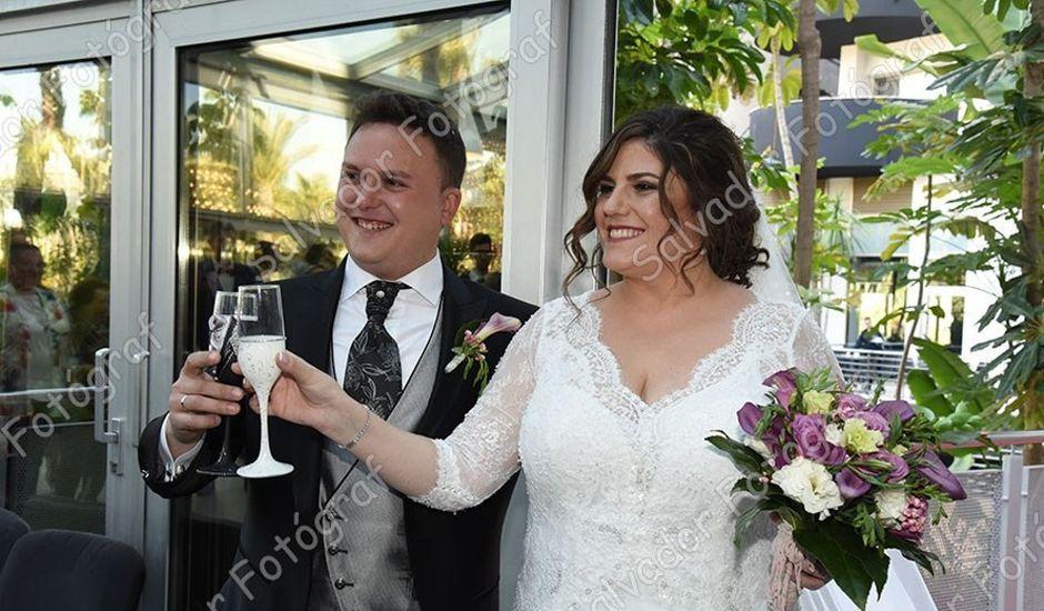 La boda de Juan Francisco y Cristina en Callosa D'en Sarrià, Alicante