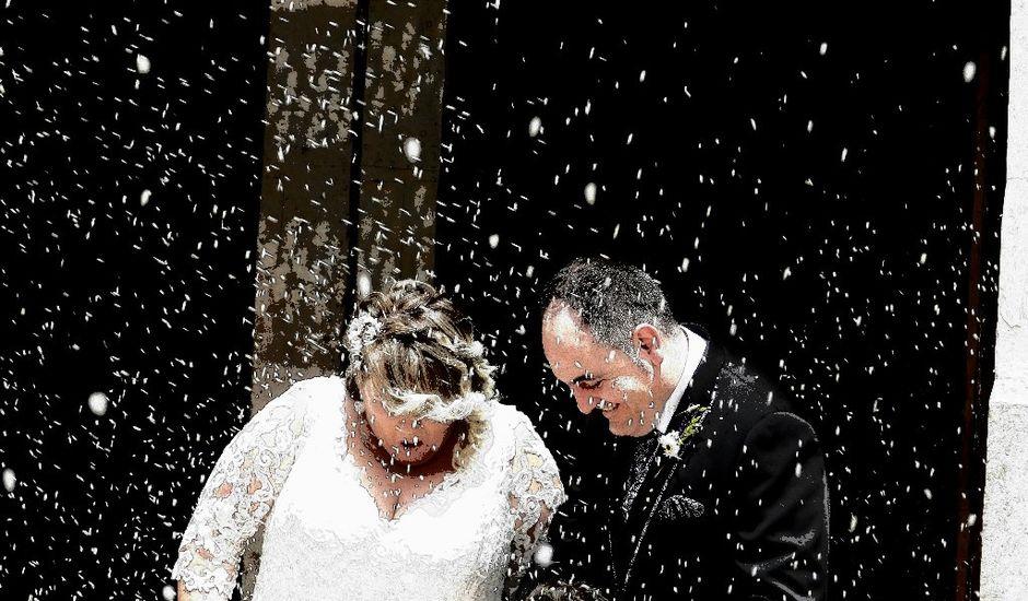 La boda de Juan Antonio  y Maria  en Alfambra, Teruel