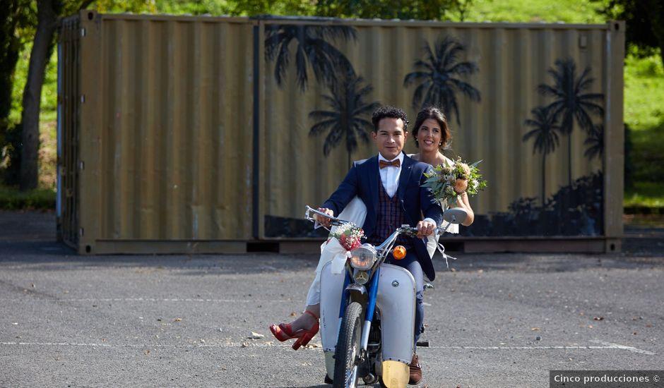 La boda de Jean y Nerea en Zubieta, Guipúzcoa