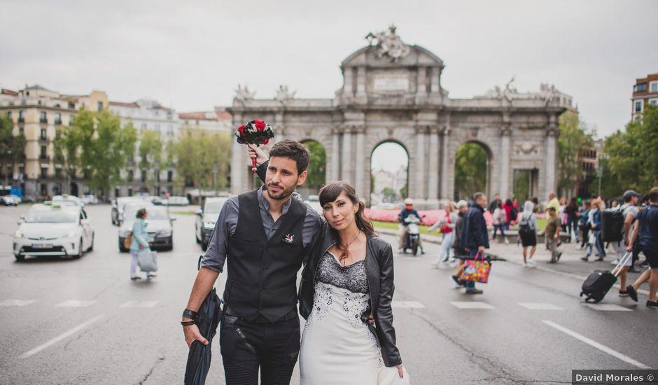 La boda de Guille y Mary en Madrid, Madrid