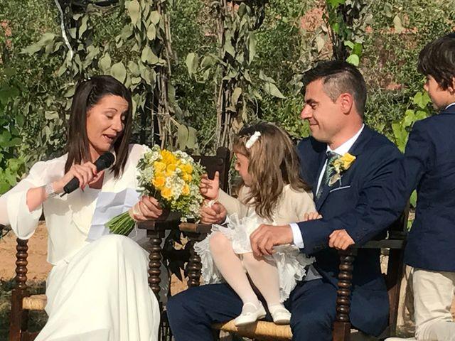 La boda de Josep y Ester en Sant Cugat Sesgarrigues, Barcelona 1