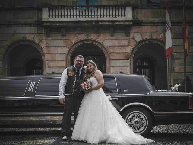 La boda de Jose y Isabel en Gijón, Asturias 140