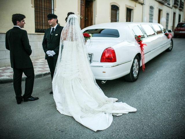 La boda de David y Sonia en La Carolina, Jaén 36
