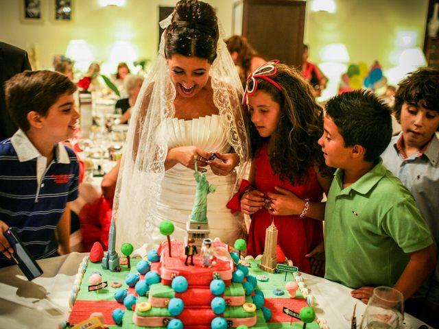 La boda de David y Sonia en La Carolina, Jaén 40