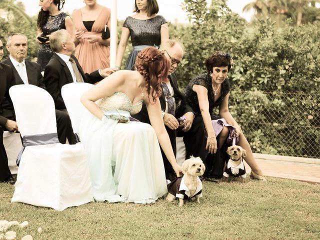 La boda de Adrián y Vanessa en Alacant/alicante, Alicante 40