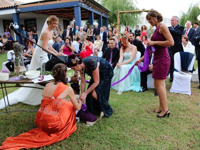 La boda de Adrián y Vanessa en Alacant/alicante, Alicante 54