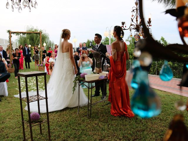 La boda de Adrián y Vanessa en Alacant/alicante, Alicante 55