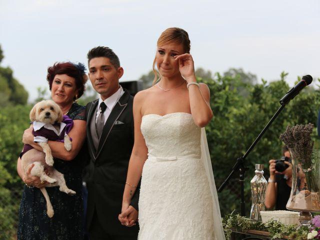 La boda de Adrián y Vanessa en Alacant/alicante, Alicante 61