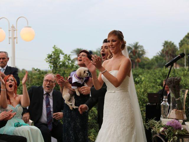 La boda de Adrián y Vanessa en Alacant/alicante, Alicante 64