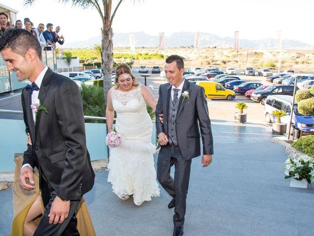 La boda de Jose Victor y Elisabeth en Los Ramos, Murcia 9