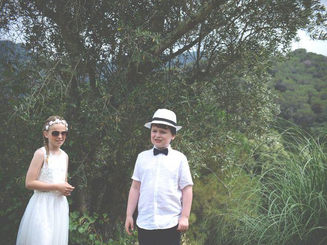 La boda de Allan y Francesca en Dosrius, Barcelona 2