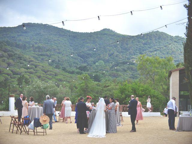 La boda de Allan y Francesca en Dosrius, Barcelona 15