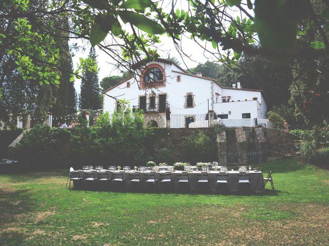 La boda de Allan y Francesca en Dosrius, Barcelona 14