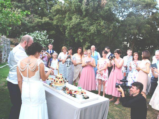 La boda de Allan y Francesca en Dosrius, Barcelona 18
