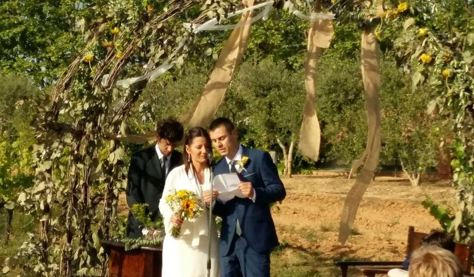 La boda de Josep y Ester en Sant Cugat Sesgarrigues, Barcelona