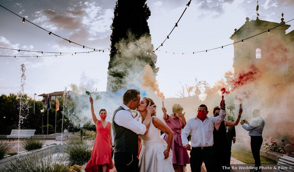 La boda de Tamara y Diego en Boecillo, Valladolid