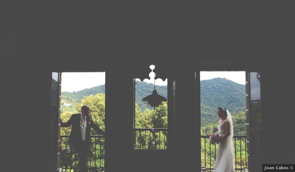 La boda de Allan y Francesca en Dosrius, Barcelona