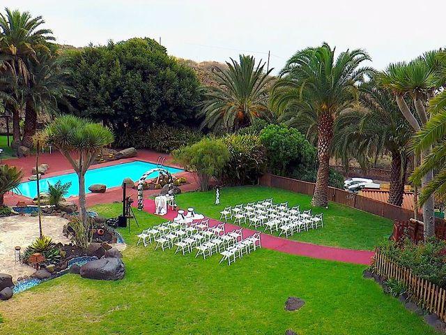 La boda de Alberto y Talía en Galdar, Las Palmas 21