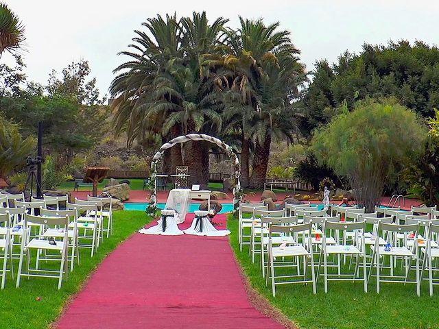 La boda de Alberto y Talía en Galdar, Las Palmas 22